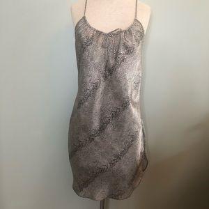 Delicates Snake Skin Half Night Gown
